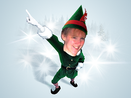 Cath the disco elf